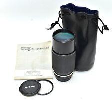Nikon Series E 70-210mm f4 Telephoto Zoom Lens - Nikon AI-S mount