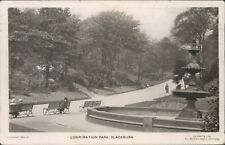 Postcard posted 1924 Lancashire Blackburn real photo
