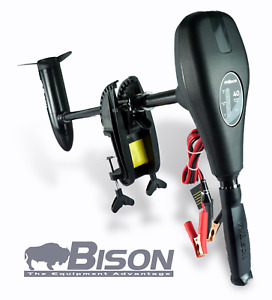 BISON 68'lb ELECTRIC OUTBOARD TROLLING MOTOR FREE SPARE PROPELLER