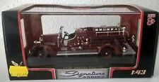 1:43 SIGNATURE SERIES Feuerwehr 1938 Ahrens Fox VC - OVP