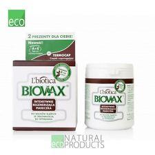 L'Biotica Biovax Natural Hair Mask Anti Hair Loss 250ml Intensive Regeneration