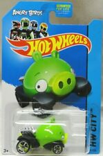 2014 Hot Wheels 81/250. GREEN Angry Birds Minion Pig. BFC90. NEW in Package!