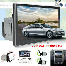"Double 2Din 10.1"" Android 9.1 Touch Screen Car Stereo Radio GPS Wifi 3G/4G BT"