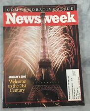 Newsweek January 1, 2000- Y2K Commemorative Issue, Welcome To The 21st Century