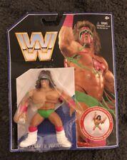 WWE WRESTLING RETRO HASBRO SERIES The ULTIMATE WARRIOR FIGURE WWF MATTEL