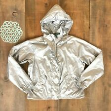 Ralph Lauren Women's silver jacket windbreaker Small
