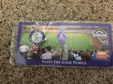 Colorado Rockies 2003 Hat Lapel Pin - Paint The Game Purple - Go Rockies