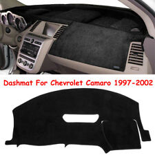 Dashmat Dash Board Cover Mat Sun Cover Pad Fits For Chevrolet Camaro 1997-2002