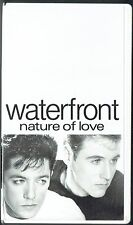 WATERFRONT - 2 x VHS  - Nature of Love / Cry.  Promo Video Polydor