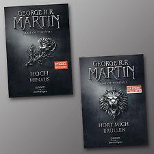 George R.R. Martin | GAME OF THRONES Band 3 + 4 | Brüllen + Hoch hinaus (Buch)