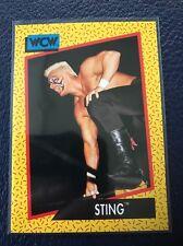 STING  1991 Impel WCW Wrestling Card #13  MINT  Pack Fresh!