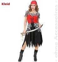 Fasching Horror Piratin Halloween Kostüm Kleid Gr. 38 NEU