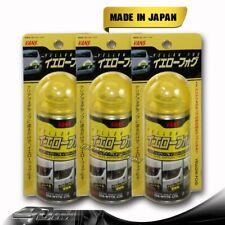 3PCS VANS Yellow Tint Lens Tail Head Fog Coner Light Side Marker Painter Spray B