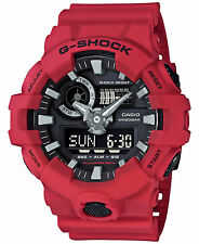 Casio G-SHOCK GA700-4A Red Super Illuminator Analog Digital 200m Men's Watch