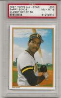 1987 Topps Glossy All-Star #30 BARRY BONDS PSA 8 NM-MT, ROOKIE L@@K !