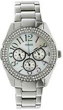 Guess Watch For Womens Swarovski Crystal Silver Model  U12510L1