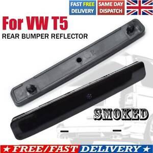 For VW Transporter T5 03-11 Multivan Black Smoked Rear Bumper Reflector Light