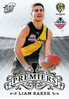 ✺New✺ 2019 RICHMOND TIGERS AFL Premiers Card LIAM BAKER - 22 of 25