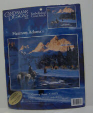 Candamar Designs Coming Home Cross Stitch 51071  16 x 20 Finished Size