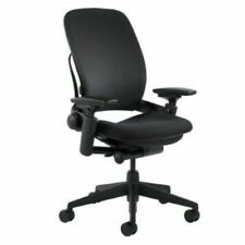 Steelcase Leap V2 Chair Open Box Fully Loaded Black Fabric New Chair