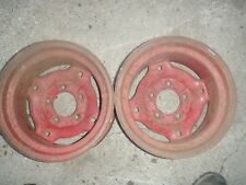 Bolens 1556  garden tractor rear wheels rims FREE SHIP
