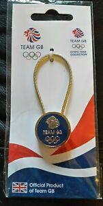 Olympics London 2012 - Blue Team GB Metal Keyring