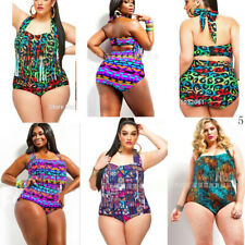 Women's Plus Size Swimsuit Swimwear Push Up Monokini Bathing Suit Bikini Set lot