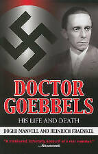 Doctor Goebbels: His Life and Death by Roger Manvell (English) Paperback Book Fr