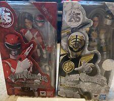 Power Rangers SH Figuarts Red White Ranger