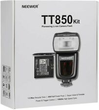 NEEWER® TT850 *LI-ION BATTERY* Flash Speedlite Kit(World's First Li-ion Powered)