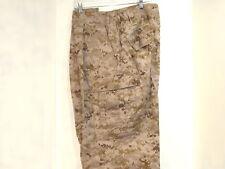 US MILITARY USMC DESERT MARPAT FROG PANTS SIZE MEDIUM LONG NEW