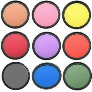 Digital Camera Lens Filter Color Filter For Canon Nikon Sony Tamron Sigma