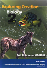 Apologia Biology Complete Course on CD-ROM (2nd Edition) Jay Wile New!