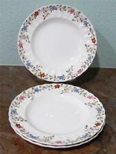 "(3) Copeland SPODE England 'WICKER DALE'  7.75"" Salad Plates~numbered~EUC"