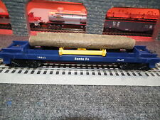 Lionel 6-16611 Santa Fe Log Dump Car Built 1-88