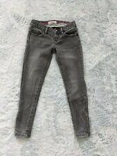 Stella McCartney for Gap Kids Size 6 Skinny Zip Ankle Jeans Gray Girl Denim EUC