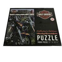 HARLEY DAVIDSON Sealed 1000 PC. PUZZLE 2015 ISSUE COLLECTOR'S EDITION # 6055