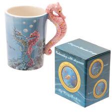 Fantasy Tasse Seepferdchen Kaffeetasse Kaffeebecher Becher Mug Teetasse Seahorse