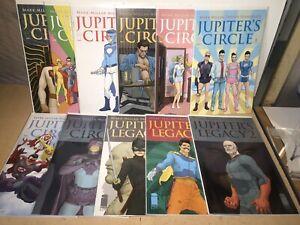 Image Jupiter's Circle/Legacy 11 Issue Lot
