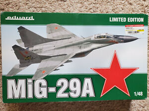 "Eduard 1/48 MiG-29A ""Fulcrum"" Limited Edition - Long OOP"