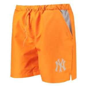 New York Yankees Swim Shorts Fanatics Men's Swim Shorts - Orange - New