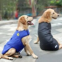 Small Large Pet Dog Puppy Winter Padded Coat Down Jacket Vest Clothes Apparel