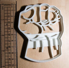 Hulk Fist Cookie or fondant  Cutter 3d printed