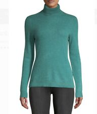 Lord & Taylor Essential 100% Cashmere Turtleneck Sweater