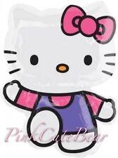 """Hello Kitty Pink/Purple Supershape 30"""" Jumbo Balloon Party Supplies USA Seller"""
