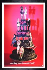 Rocky Horror Picture Show CineMasterpieces 10Th Anniv Recalled Movie Poster 1985
