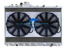 Aluminum radiator for 1996-1998 ACURA TL PREMIUM 3.2L V6 1997 +Fans 1997 96 98