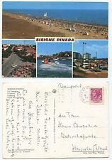 20657 - Bibione Pineda - Ansichtskarte, gelaufen 9.8.1971