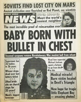 Weekly World News Sept 29 1987 - Baby Born w Bullet in Chest - Michael Jackson