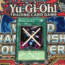 Block Attack MRD-133 Common (Near Mint) MISSCUT Metal Raiders 2002 YuGiOh!